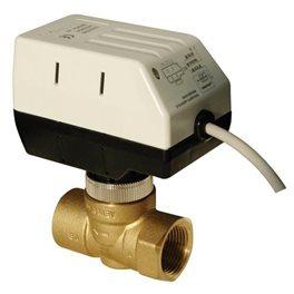 2HEAT®  KL+VE, gemotoriseerde klep (Heimeier compatible) inclusief messing ventiel 24mm.