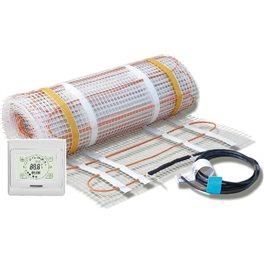 Ecofloor / Budget 4mm vloerverwarming, 160W/m2, incl thermostaat