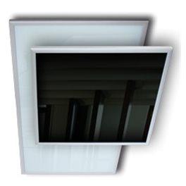 Infrarood glas paneel